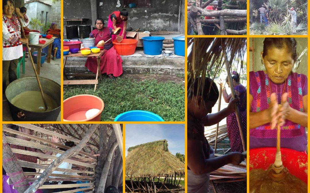 Construcción colectiva del Espacio de Encuentro de la Cultura Ikoot