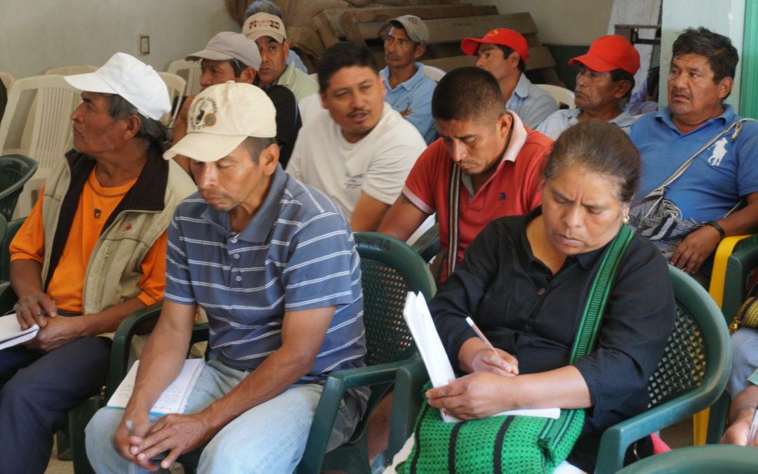 Reglamento comunitario para el agua en la Mixteca