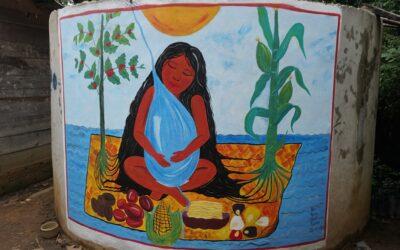 Concurso de murales sobre cisternas en Yucuhiti