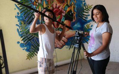 Taller de cine para jóvenes en el Istmo